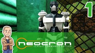 Neocron Classic Gameplay Part 1 - Open Beta - Let's Play Walkthrough Playthrough