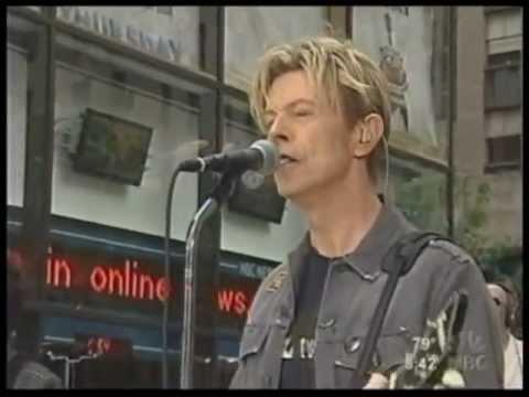 DAVID BOWIE - NEW KILLER STAR - LIVE NY 2003