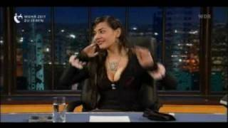 lady bitch ray bei schmidt und pocher am 24 04 2008 teil 1