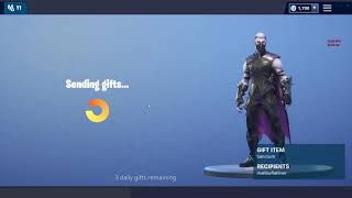 I DIDN'T GET MY FORTNITE GIFT BUT THEY TOOK MY V BUCKS ( new fortnite gifting)
