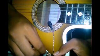 Cara Asik Main Gitar Akustik - Membuat Sepul dari Twiter Bekas - bitcoin thumbnail