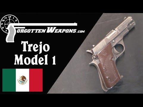 Trejo Model 1 Machine Pistol: Shooting and History