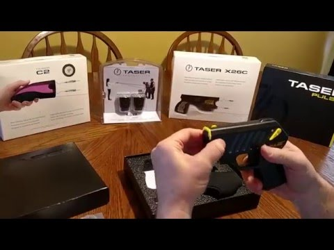 Taser Pulse Unboxing and for Sale by The Self Defense Superstore