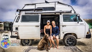 Couple Converts Syncro Van for Extended Off Grid Travel