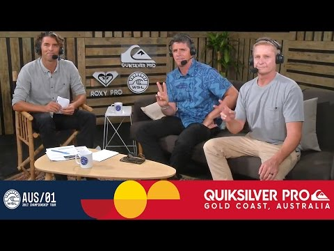 Post Show: Opening Day at the Quiksilver Pro Gold Coast 2017