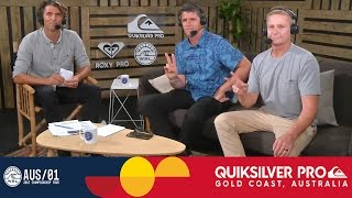 Post Show: Opening Day at the Quiksilver Pro Gold Coast 2017 Recap