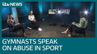 UK and US gymnasts from 'Athlete A' documentary discuss abuse in sport | ITV News