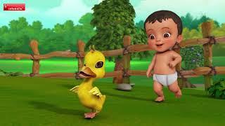 Chinni Chinni Baathu | Telugu Rhymes for Children | Infobells