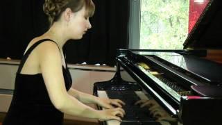 J. Brahms - Fantasies op. 116 Capriccio no. 3 in G Minor.mov - Tanja Morozova - Alstermusiker.de