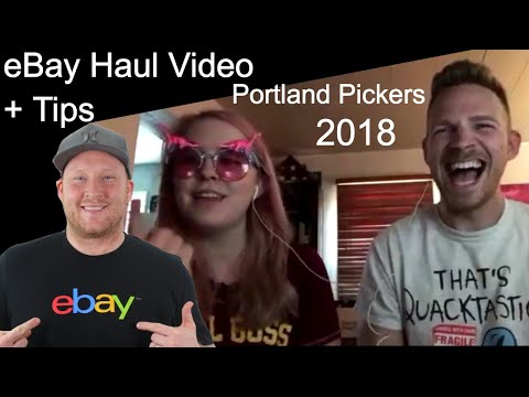 eBay Haul And Tips Video 🔥 Interview Portland Pickers