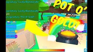 'POT O' GOLD'! ÉCLOS DANS LE JEU! - Bubble Gum Simulateur Roblox