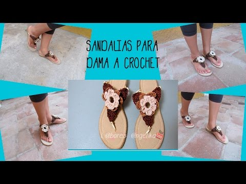 A Dama Angélika Most Popular CrochetLabores Para Videos Sandalias f6yYbg7
