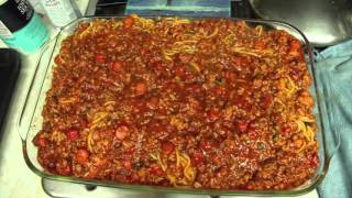 Blog Day 1 (Filipino Baked Spaghetti)
