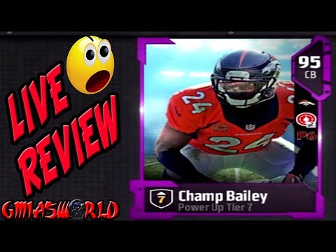 WE GOT CHAMP BAILEY POWERUP TIIER 7 CHAMP IS GLITCHY MUT 18 GAMEPLAY live review