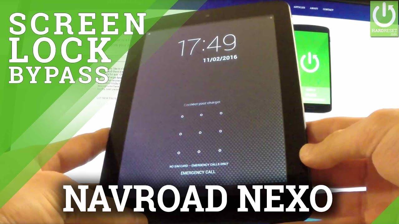 Hard Reset NAVROAD Nexo 3G - Remove Password / Clear eMMC