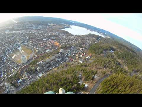 paragliding grefsen oslo 20.03