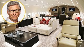 The Private Jets Of The World's Richest Billionaires
