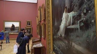 Фотоснимки муз живописцев с полотен Третьяковской галереи (новости)