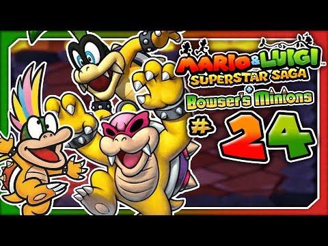 Mario & Luigi: Superstar Saga + Bowser's Minions - Part 24: Bowser's Castle! (3DS)