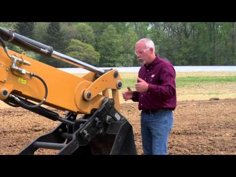 Cat® Backhoe Loader | Grease And Greasing Tips