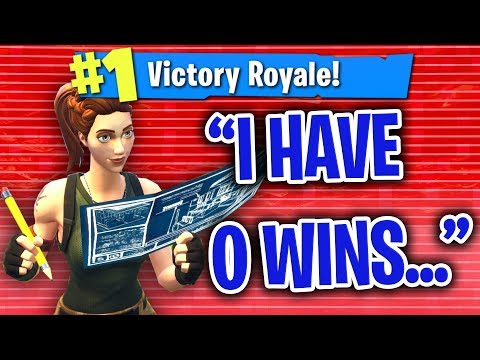PRETENDING TO HAVE 0 WINS THEN CARRYING KIDS IN FORTNITE!!