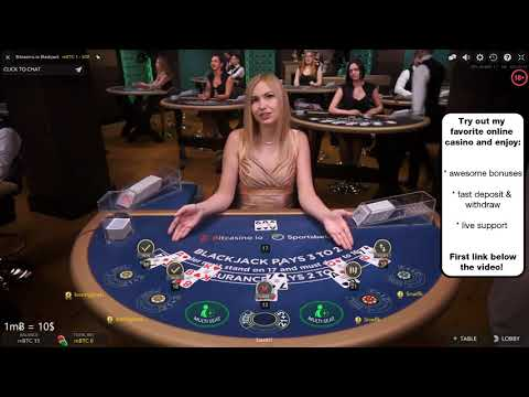LIVE BLACKJACK - HOW TO LOSE 200$ IN 5 MINUTES | Bitcoin Gambling