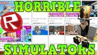 Roblox Simulators Are Trash