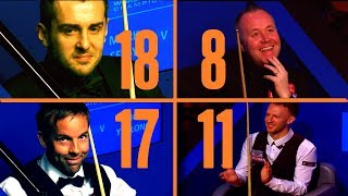 Top 30 Shots of 2019 World Snooker Championship