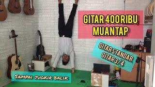 GITAR 400 RIBU MANTAP | SPESIAL JOGJAKUSTIK15 | GITAR STRING DAN GITAR 3/4 SUDAH TANAM BESI