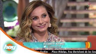 Elizabeth Álvarez aclara incidente con Paulina Goto | Hoy
