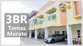 UPGRADED Townhouse for Sale in Tomas Morato Ave. QUEZON CITY, Metro Manila, Property ID: QC3