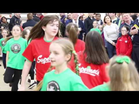 Barack Obama Plaza Irish Dancing Flash Mob