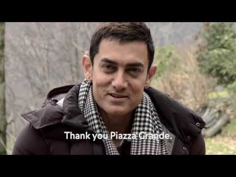 Aamir Khan for Lagaan: Once Upon a Time in India winner Prix du Public UBS 2001 Locarno