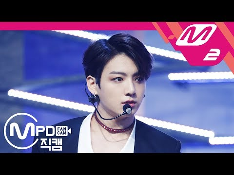 [MPD직캠] 방탄소년단 정국 직캠 4K 'FAKE LOVE' (BTS JUNG KOOK FanCam) | @MCOUNTDOWN_2018.5.31