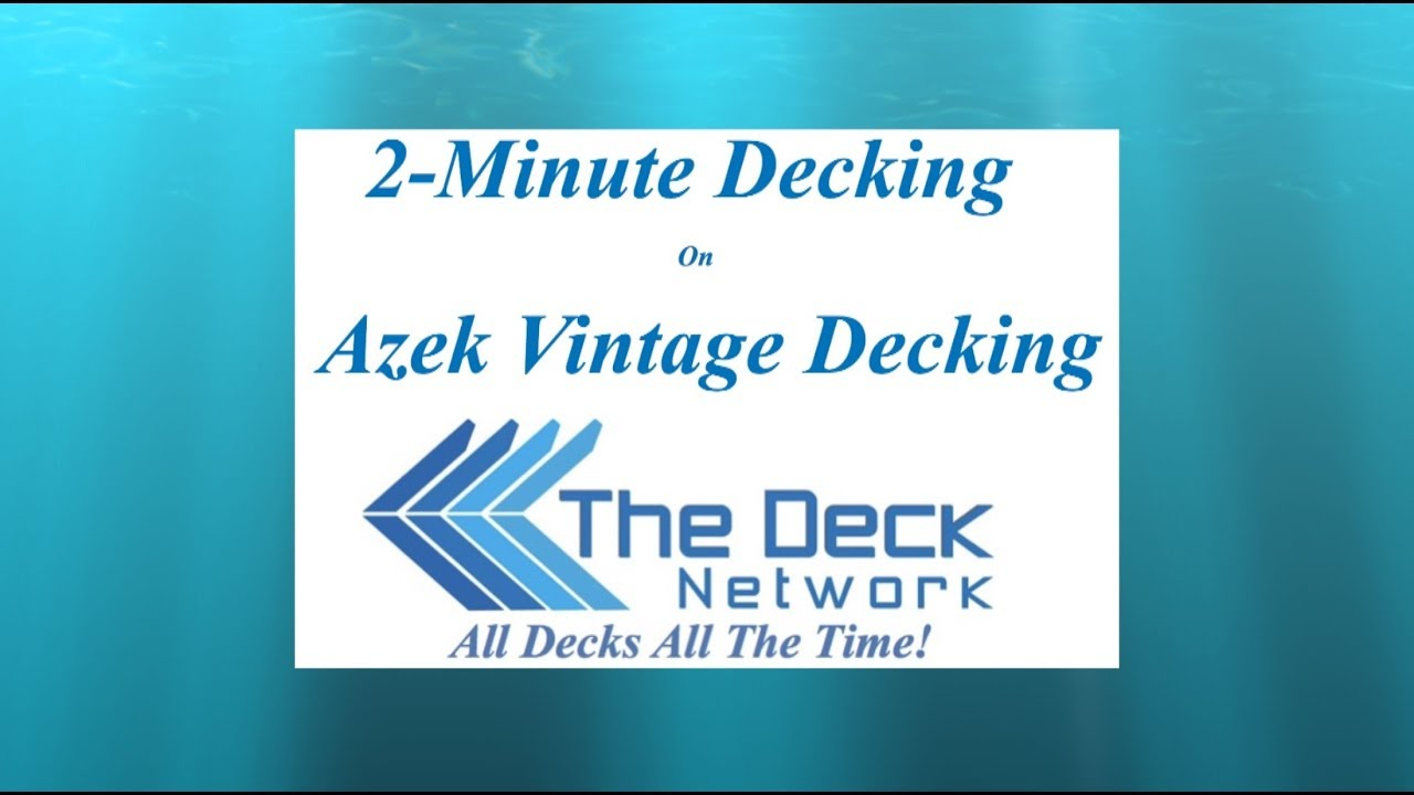 The Deck Network | All Decks All The Time