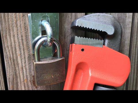 Перелом цилиндра ABUS  65/50     [508] Abus 65/50 Padlock: Twist Attack ()