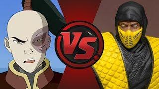 Scorpion vs Zuko! UniVS