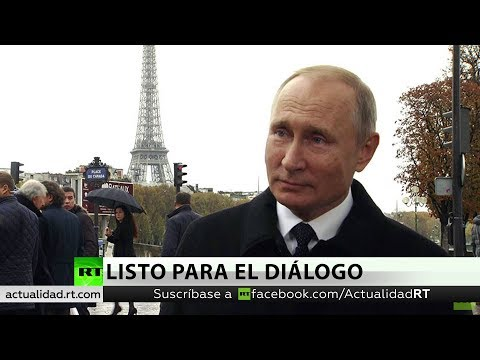 """Putin: """"Rusia Está Lista Para El Diálogo Con EE.UU., No Es Moscú La Que Abandona El Tratado INF"""""""