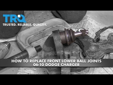 How to Replace Front Lower Ball Joints 2006-10 Dodge Charger