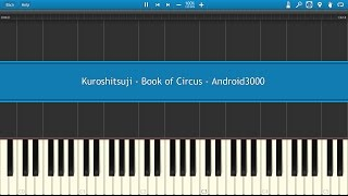 Kuroshitsuji - Book of Circus Piano Tutorial
