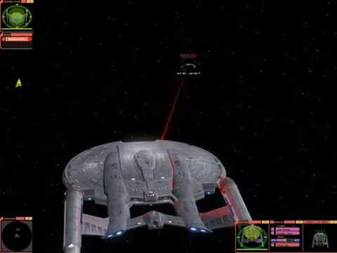 Enterprise NX 01 against 2 Romulan Bird of Prey