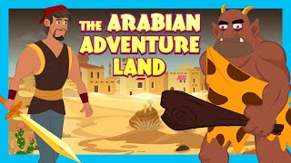 The Arabian Adventure Land|Learning Stories For Kids| Tia & Tofu Story Telling|Kids Hut Storytelling