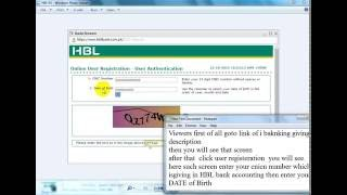 how to make hbl bank account online