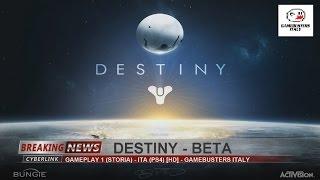 Destiny (Beta Version) - Gameplay 1 - ITA (PS4) [HD]