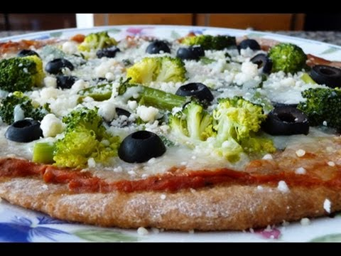 Whole Wheat Pizza Crust, Easy Recipe, How To,