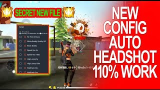 FREE FIRE Config Headshot No Lag Low Recoil Auto-Win Antiban MOD MENU