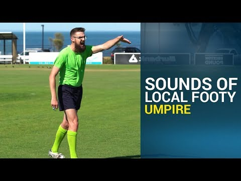 Local Footy Mic'd Up - Umpire