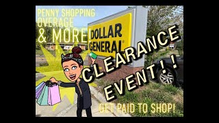 GET PAID TO SHOP! Dollar General Clearance Event! Tips & Tricks!