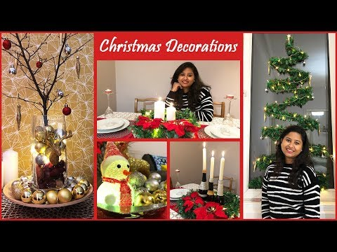 5 Easy Christmas Home Decoration Ideas || Christmas Decorate With Me || Christmas 2018