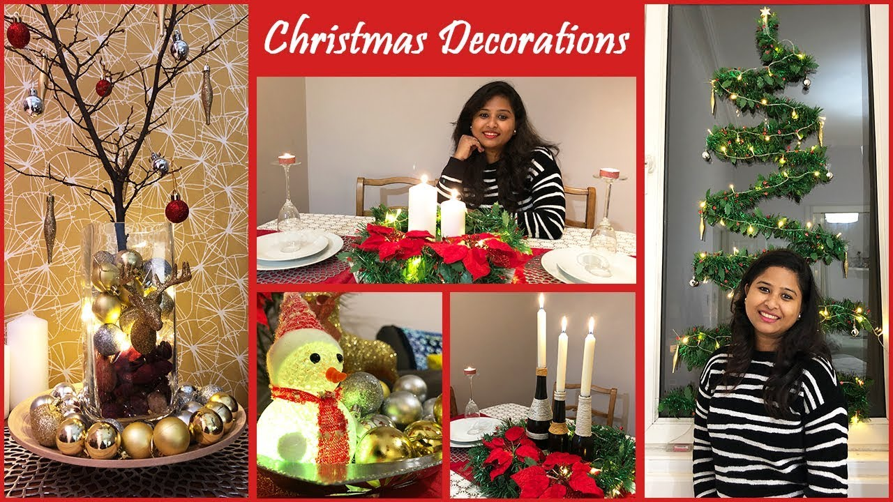 5 Easy Christmas Home Decoration Ideas || How to Decorate Your Home in Christmas || Christmas 2019